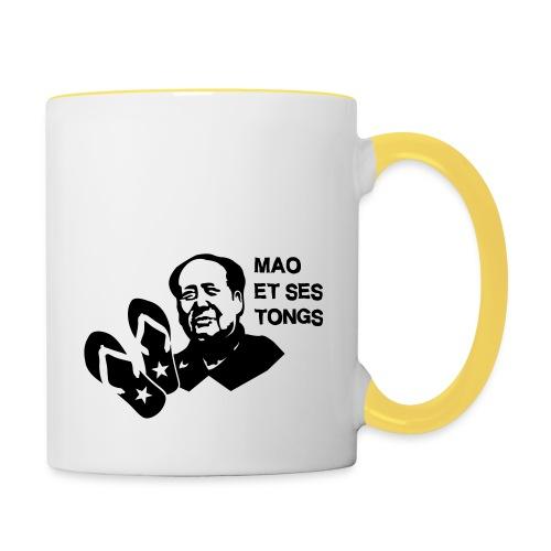 MAO et ses tongs - Mug contrasté