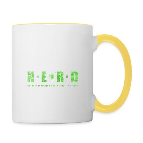 NERD Green - Tofarvet krus