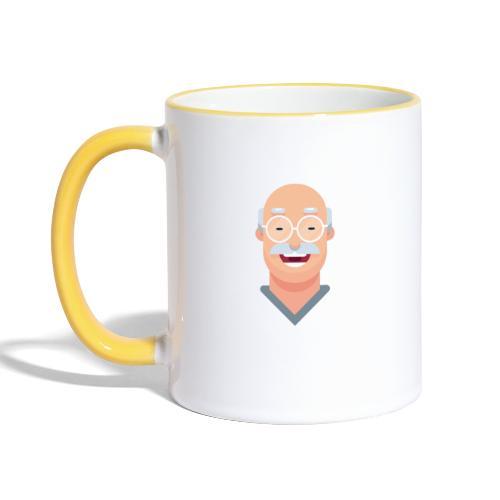Chemielehrer Kollektion - Tasse zweifarbig