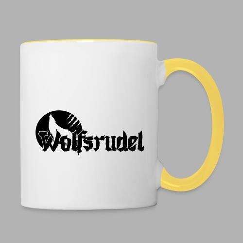 Logo Wolfsrudel EPS - Tasse zweifarbig