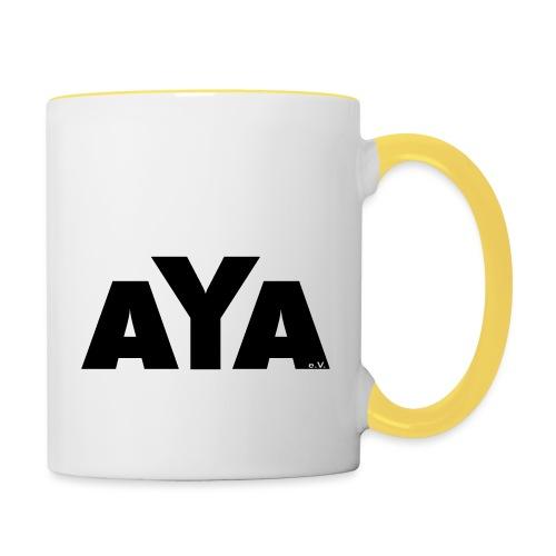 aya_ruecken - Tasse zweifarbig