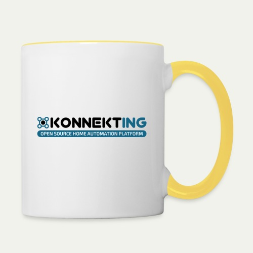 KONNEKTING Logo - Tasse zweifarbig