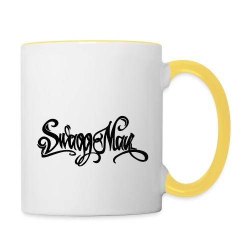 Swagg Man logo - Mug contrasté