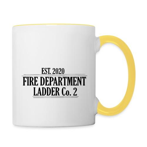 Fire Department - Ladder Co.2 - Tofarvet krus