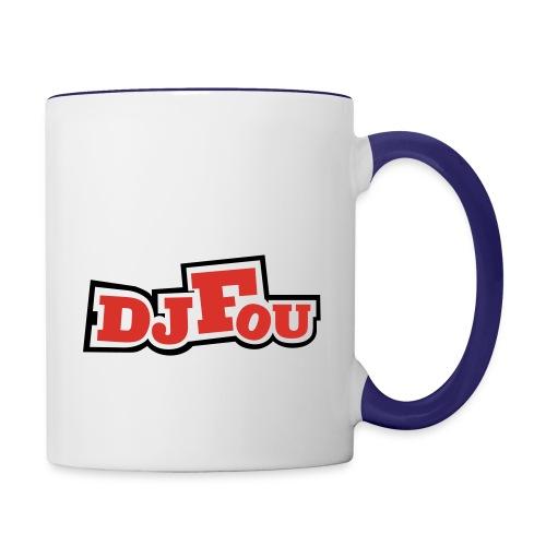 logofou - Mug contrasté