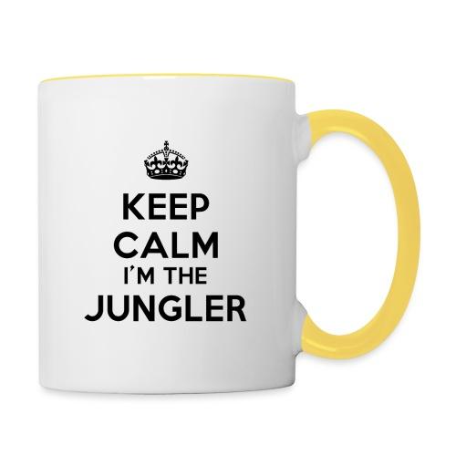 Keep calm I'm the Jungler - Mug contrasté
