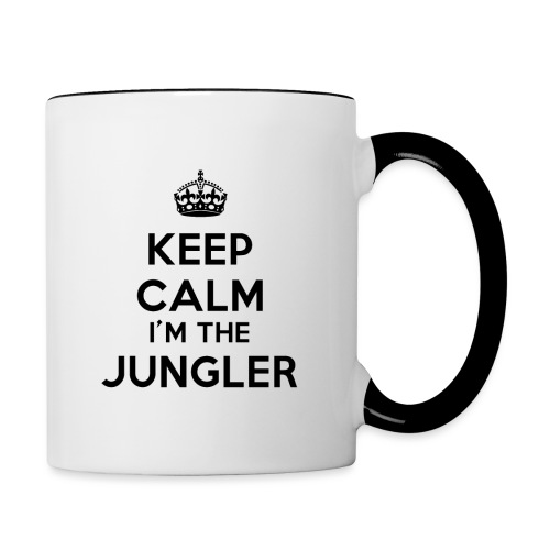 Keep calm I'm the Jungler - Mug contrasté