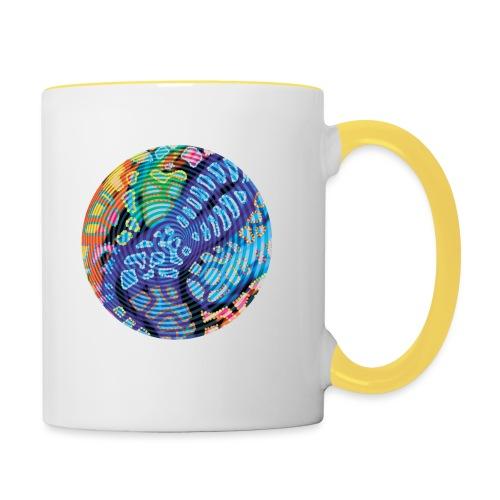 concentric - Contrasting Mug