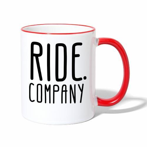 RIDE.company - just RIDE - Tasse zweifarbig