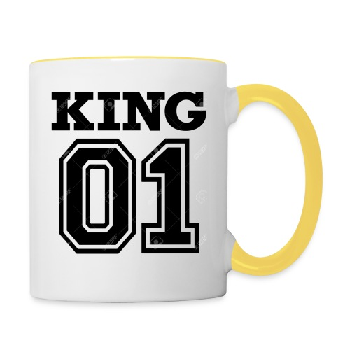 King 01 - Mug contrasté