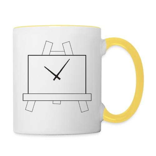 Time 4 Art - Mok tweekleurig