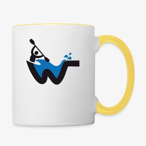 Wassersport - Tasse zweifarbig