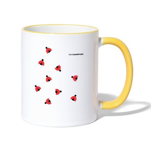 ladybird 2 design tc - Contrasting Mug