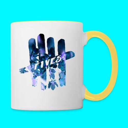 FIVES space flowers - Mug contrasté