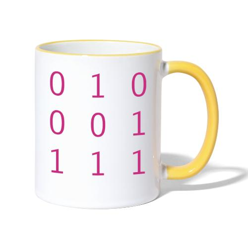 Hacker Emblem - Contrasting Mug
