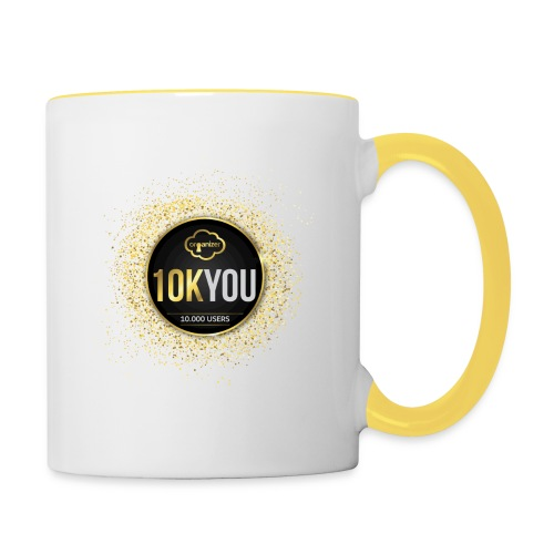 10k You! 10000 times thank you to ORGanusers! - Contrasting Mug