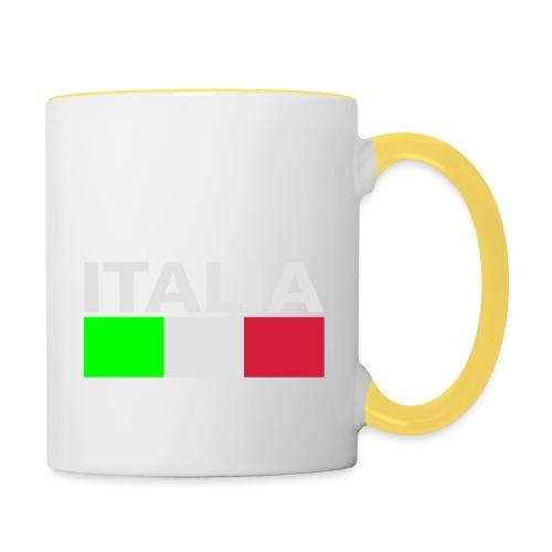 Italia Italy flag - Contrasting Mug