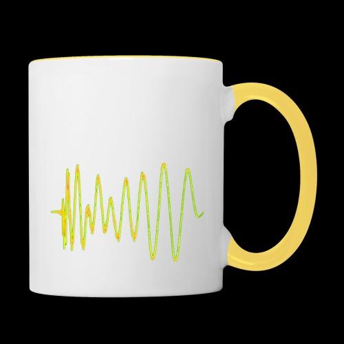 Boom 909 Drum Wave - Contrasting Mug