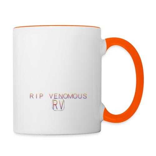 Rip Venomous White T-Shirt woman - Mok tweekleurig