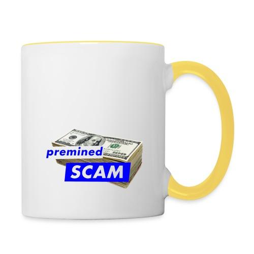 premined SCAM - Contrasting Mug