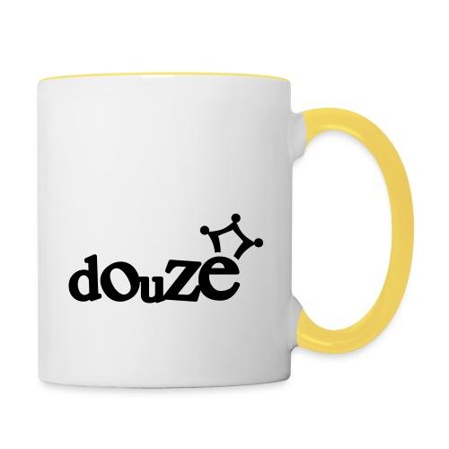 logo_douze - Mug contrasté