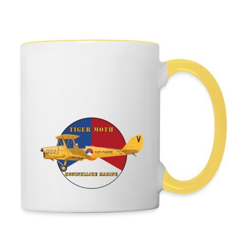 Tiger Moth Kon Marine - Contrasting Mug