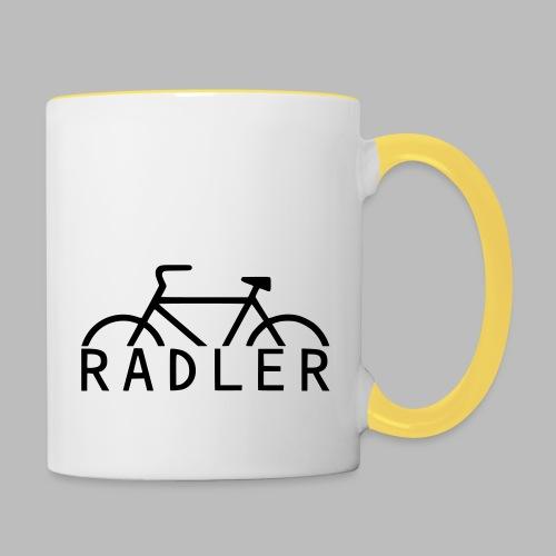 RADLER - Tasse zweifarbig