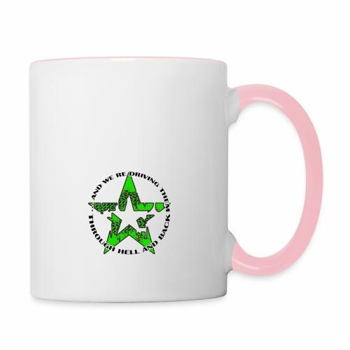 ra star slogan slime png - Tasse zweifarbig