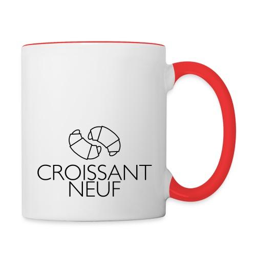 Croissaint Neuf - Mok tweekleurig