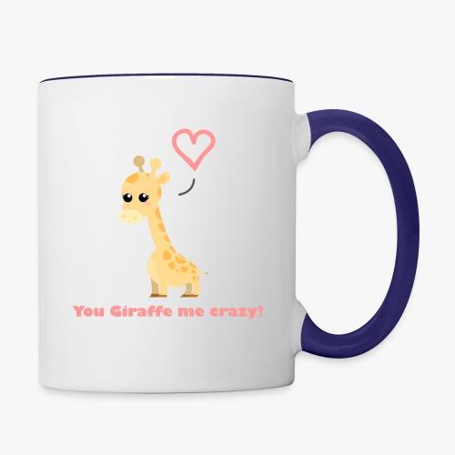 Giraffe Me Crazy - Tofarvet krus