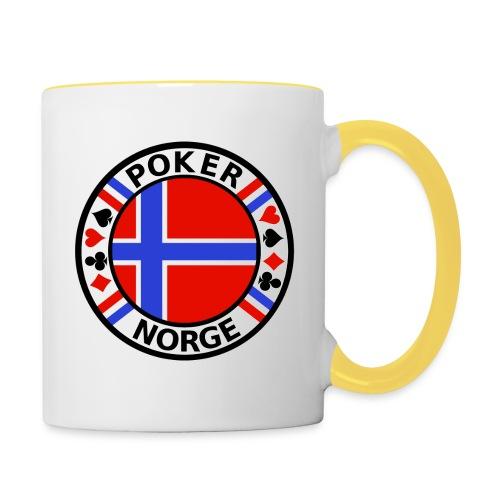 PoKeR NoRGe - Contrasting Mug