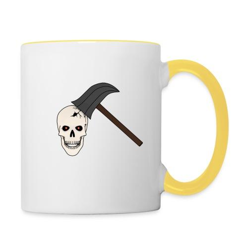 Skullcrusher - Tasse zweifarbig