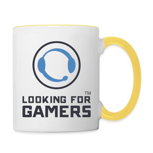Light Logo for Mug - Contrasting Mug