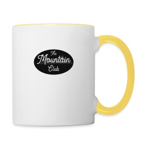 The Mountain Club - Contrasting Mug