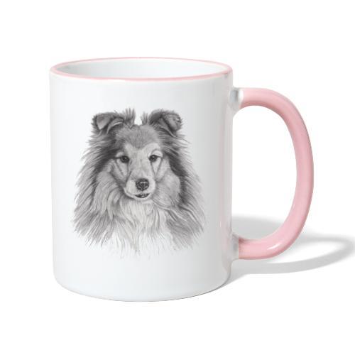 shetland sheepdog sheltie - Tofarvet krus