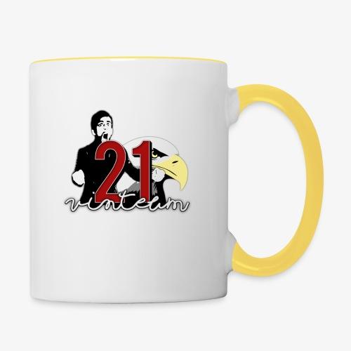 Vinte Um - Contrasting Mug