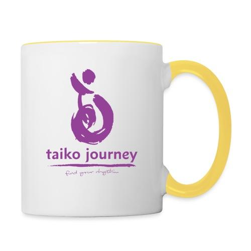 Taiko Journey PURPLE RHYTHM - Contrasting Mug