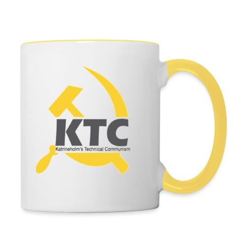 kto communism shirt - Tvåfärgad mugg