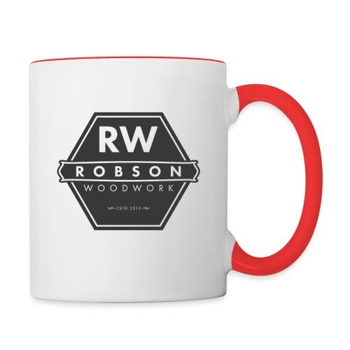 RW logo flat transparent original - Contrasting Mug