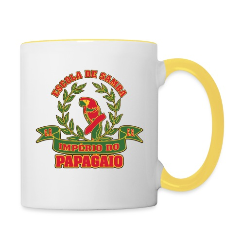 Papagaio logo - Kaksivärinen muki