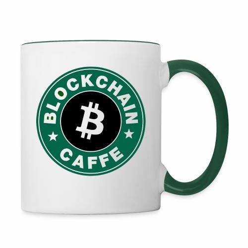 BlockChain Caffè Logo - Tazze bicolor