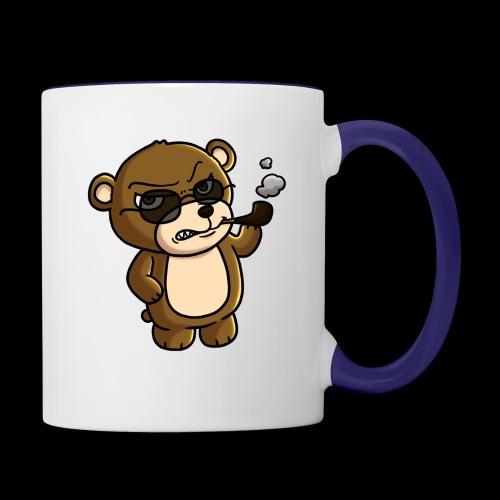 AngryTeddy - Contrasting Mug