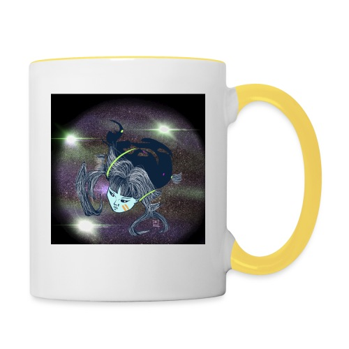 the Star Child - Contrasting Mug