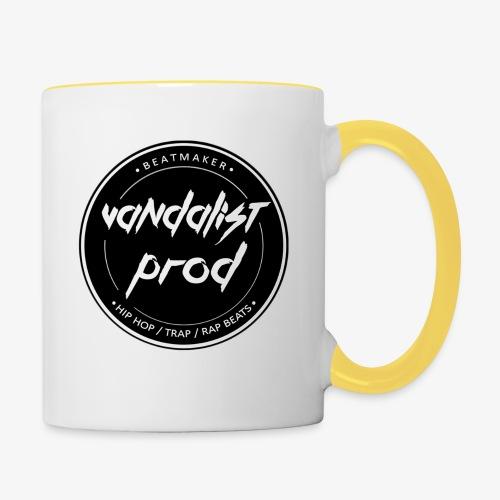 Logo Vandalist Prod - Mug contrasté