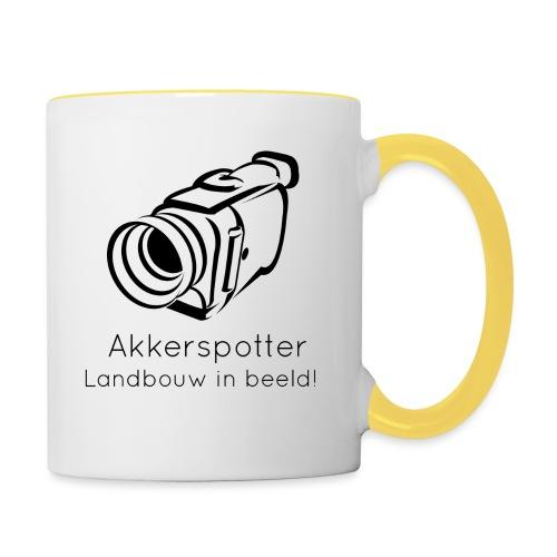 Logo akkerspotter - Mok tweekleurig