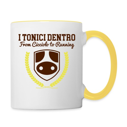 i Tonici Dentro - Tazze bicolor