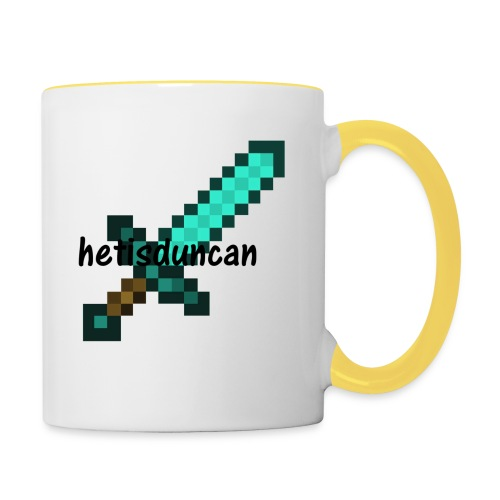 minecraft shirts - Mok tweekleurig