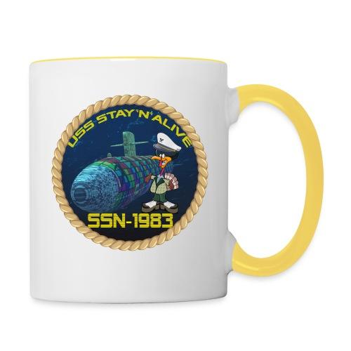 Command Badge SSN-1983 - Contrasting Mug