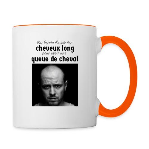 Humour Chauve ! - Mug contrasté