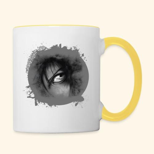 Regard sur le monde - Mug contrasté